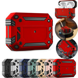 for Apple AirPods Pro 1&2 Case Rugged Armor Heavy Duty Shockproof Charging Cover