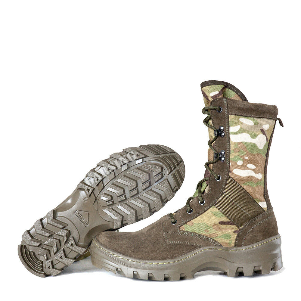 Rus Army JUNGLE BOOTS 516 MO  SHOT CAMO MULTICAM  NOVELTY by GARSING