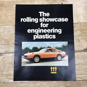 Vintage-Brochure-Engineering-Plastics-Automobile-Manufacturing-Mobay-Prototype