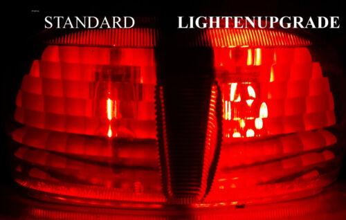 led bulb brake and tail light lightenupgrade FAZER FZS600 BAY15D