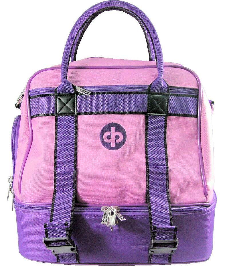 Drakes Pride - Midi Bag Pink - Lawn   Crown Green Bowls Carry Bag with Strap