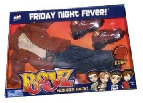 Bratz Boyz Friday Night Fever Fashion For Koby Shirt Pants Belt Shoes Jacket