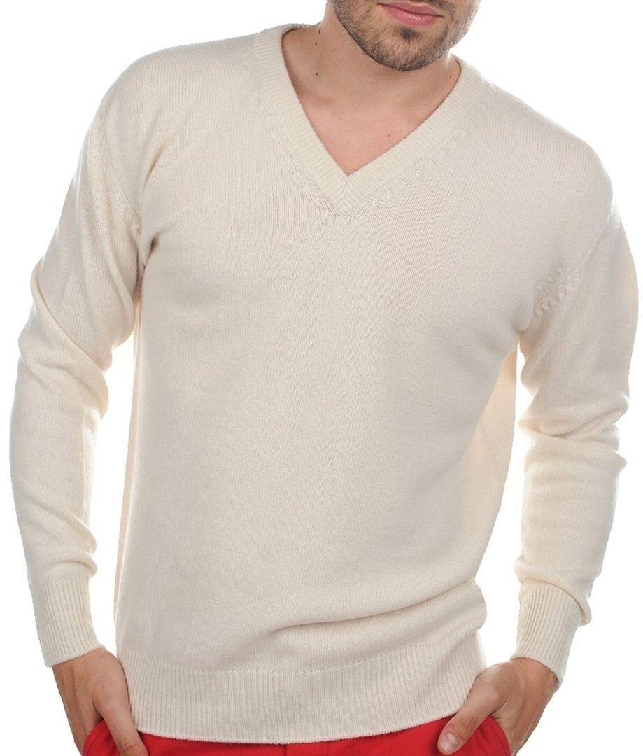 Balldiri 100% Cashmere Herren Pullover V-Ausschnitt 4-fädig ecru meliert XL     | Erschwinglich  | Haltbar  | Feinen Qualität  | Moderne Technologie  | Einzigartig