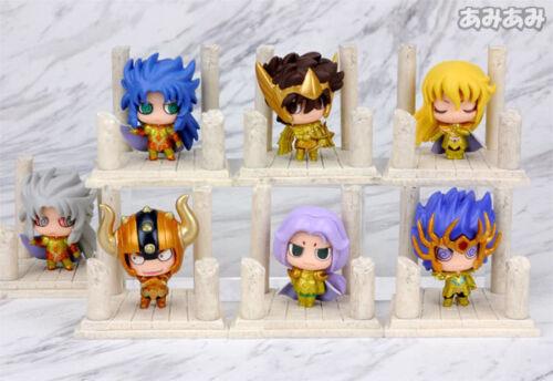 Saint Seiya set of 7pcs golden PVC figure hot doll dolls model toy new
