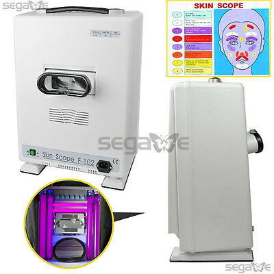 New Portable Facial Skin Scanner Analyzer Diagnosis Beauty Machine Beauty Care