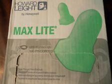 Howard Leight Max Lite Lpf 30 Corded Green Safety Ear Plugs Earplugs Box Of 100