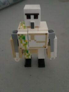 Details About Lego Minecraft Iron Golem Minifigure Official From Lego Set 21223