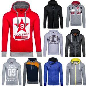 BOLF-OUTLET-SALE-Herren-Kapuzenpullover-Sweatshirt-Hoodie-Pullover-Mix-1A1-Motiv