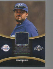 PRINCE FIELDER 2008 UD SWEET SPOT SWATCHES #SPF JERSEY