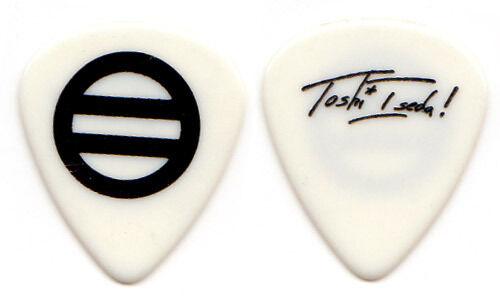 TOSHI ISEDA Guitar Pick : tour signature guitarist