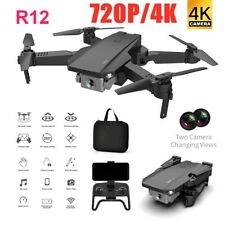Drone RC Drones 720P/4K HD Camera GPS WIFI FPV Foldable Quadcopter+Battery+Bag!!