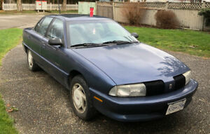 Low Km's 1995 Oldsmobile Achieva in Excellent Condition