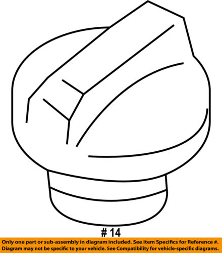GM OEM-Engine Oil Filler Cap 12642516