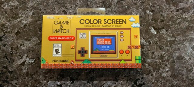 Game And Watch Super Mario Bros 35th Anniversary special edition limited On hand