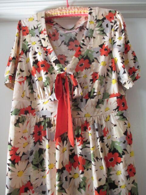 Leona Edmiston Floral Dress