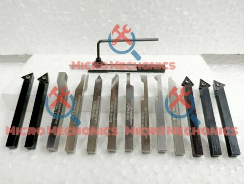 6MM HSS Lathe Form Tools 8 Mini Lathe Parting Indexable Carbide Insert Tools
