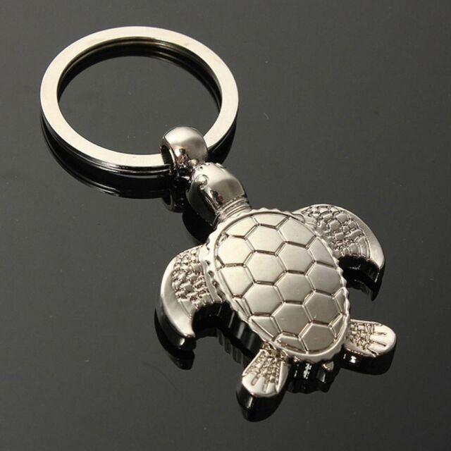 Christmas Charm Lovely Keyfob Keyring Keychains Sea Turtle