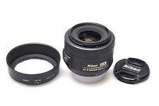 Nikon Nikkor 35 mm F/1.8 SWM AF-S DX G