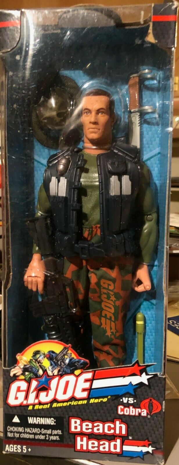BRAND NEW G.I. Joe  Beach Head  Action Figure - Hasbro