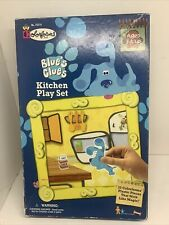 Blue S Clues Kitchen Play Set No 70214 Colorforms 1998 Factory For Sale Online Ebay