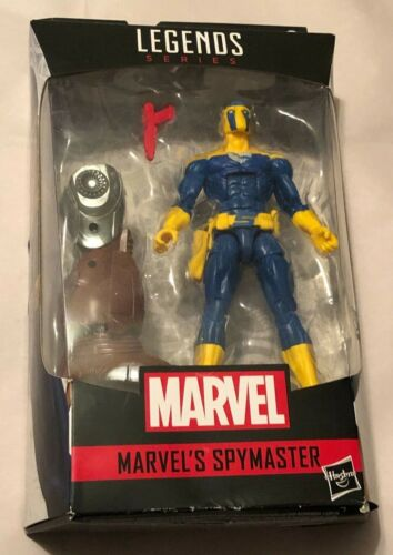"Hasbro Marvel Legends Crimson Dynamo BAF /""Spymaster/"" 6in Action Figure *NEW*"