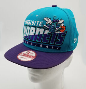 online for sale great fit new high quality Charlotte Hornets New Era 9Fifty Snapback Cap Hat NBA Hardwood ...