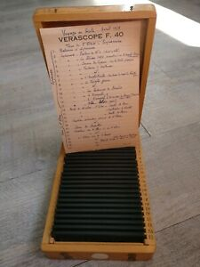 Rare-Verascope-F-40-Stereoscope-25-Views-Colors-Italy-IN-1959-Sicily-1959-44