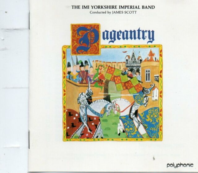 Yorkshire Imperial Brass Band - Pageantry - Bourgeois / Howells etc - 1989 CD