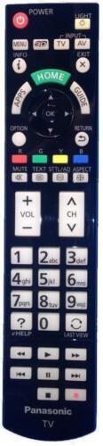 Genuine Panasonic Remote Control For TX-L42ETX64 TX-L42FT60 TX-L42FTW60