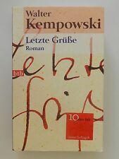 Walter Kempowski Letzte Grüße Roman