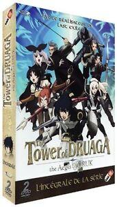 The-Tower-of-Druaga-Saison-1-The-Aegis-of-URUK-Integrale-2-DVD-NEUF-VF