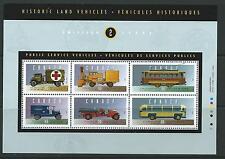 CANADA SGMS1611 1994  HISTORIC AUTOMOBILES   MNH