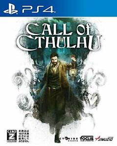 USED-PS4-PlayStation-4-Call-of-Cthulhu-32581-JAPAN-IMPORT