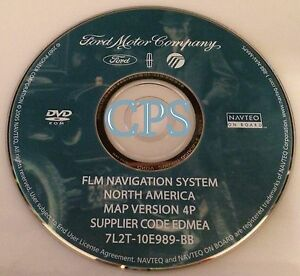 2006 Ford Lincoln FLM Navigation System OEM DVD North America Map 4P