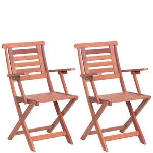 Sedie Richiudibili In Legno.Sedia In Legno Pieghevole Giardino 2 Sedie Richiudibili Pieghevoli