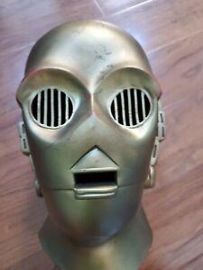 Star-Wars-C-3PO-Adult-Rubber-Mask-20th-Century-Fox-vintage-Halloween-1977