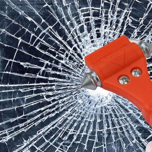 2in1 Car Hammer Seat Belt Cutter Emergency Hammer to Break Window Glass */<