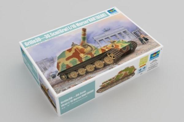 09535 Trumpeter Grille30-30.5cm(Grw)L 16 Morser'BAR (BEAR)Tank 1 35 Model Kit