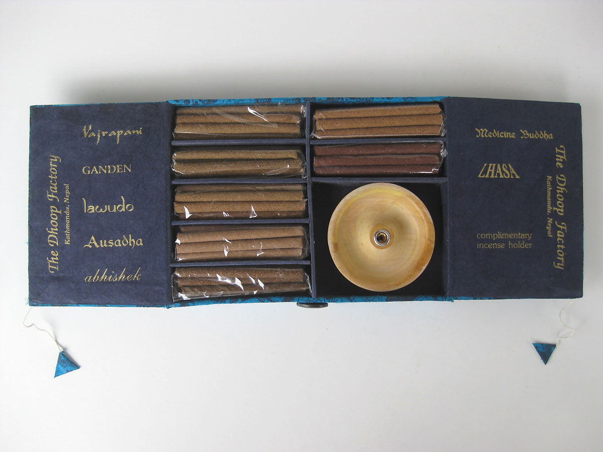 Excellent set of TIBETAN INCENSE  aromatic aromas x x x 18 c2c1d3