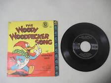 THE WOODY WOODPECKER SONG LITTLE GOLDEN RECORD 45 RPM 1959 WOODPECKER DANCE