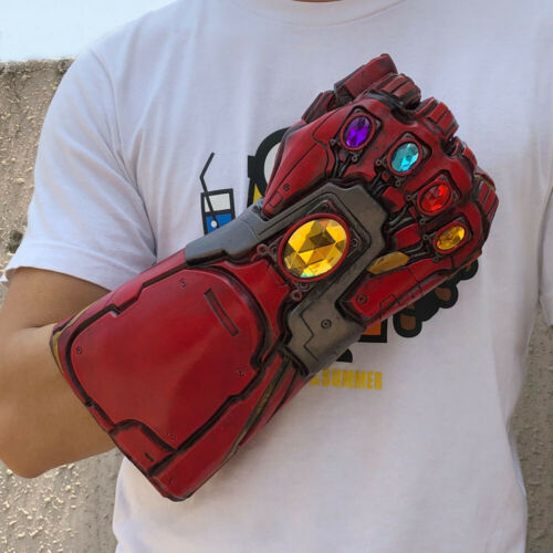 Avengers 4 Endgame Tony Stark Infinity Gloves Iron Man Gauntlet Thanos Gloves UK