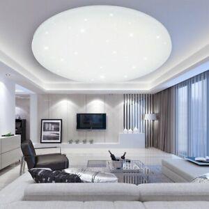 LED Deckenleuchte Sternenhimmel Glitzer Deckenlampe Wohnzimmer Büro ...