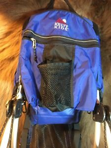 Details About Kelty Kids Town Baby Backpack Carrier Preowned Used Color Blue