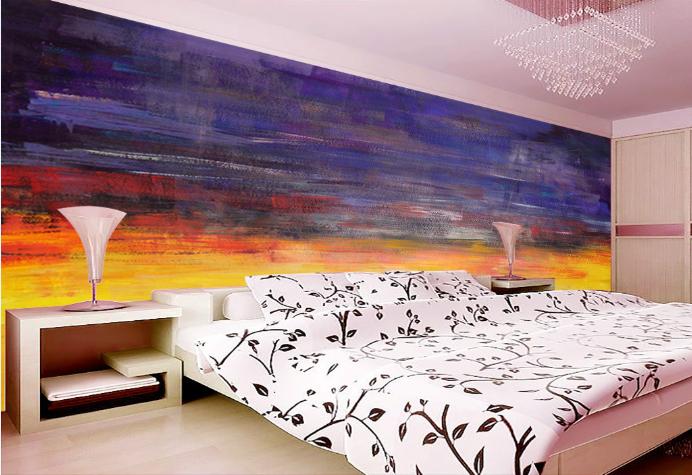 Papel Pintado Mural De Vellón Pintura Al Óleo 3 Paisaje Fondo De Pantalla ES AJ