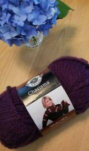 Loops /& Threads CHARISMA Chunky Bulky Yarn 9 Color Choices 15yd