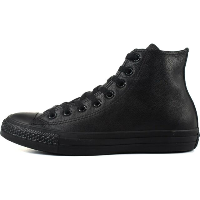 brand new 94e13 ef29c Converse Chuck Taylor All Star Hi 135251C Black Monochrome Leather