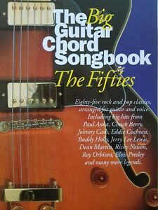 The Big Guitar Chord Songbook The Fifties Guitar ChordsLyrics MINT CONDITION - Loughton, United Kingdom - The Big Guitar Chord Songbook The Fifties Guitar ChordsLyrics MINT CONDITION - Loughton, United Kingdom