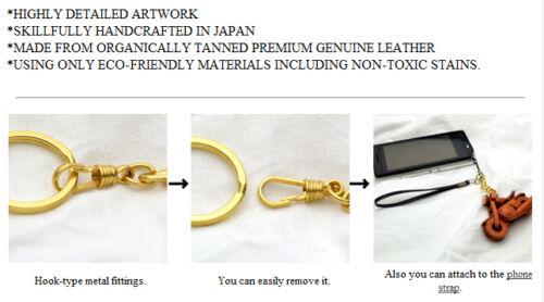 Koala Handmade 3D Leather Animals Keychain//Charm *VANCA*  Made in Japan #56224