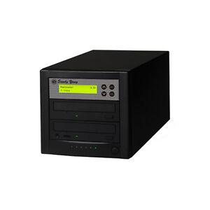 1 to 1 Target 24X SATA DVD CD Duplicator Tower Burner Copy Copier