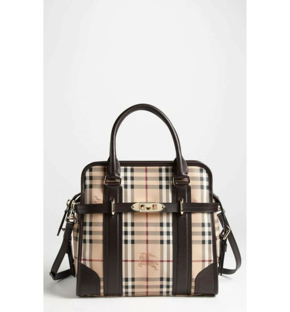681e24a6d76d Burberry Haymarket Check Bag Portrait Minford Womens Tote for sale ...